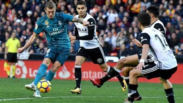 مشاهدة مباراة ريال مدريد وفالنسيا بث مباشر اليوم 8-1-2020 في كأس السوبر الاسباني