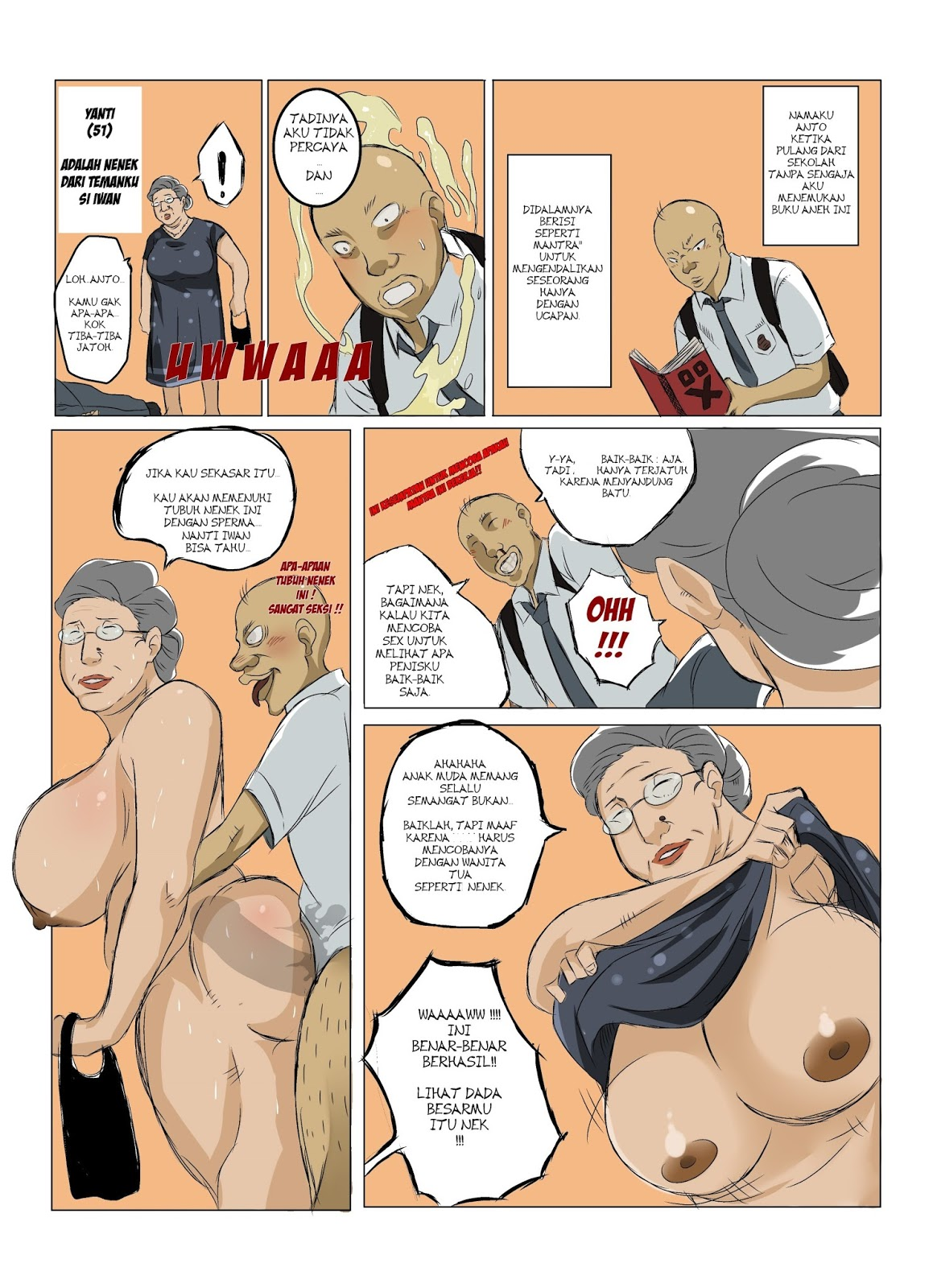 granny sex comics