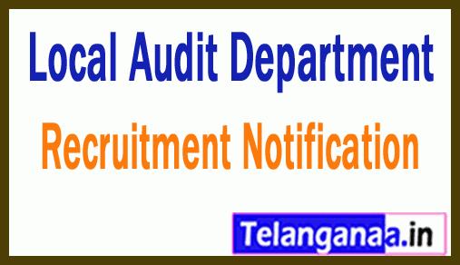 Local Audit Department Recruitment Notification