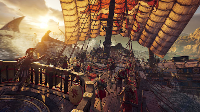بالفيديو الكشف عن نظام حروب السفن خلال لعبة Assassin's Creed Odyssey وأجواء ممتعة جدا ..