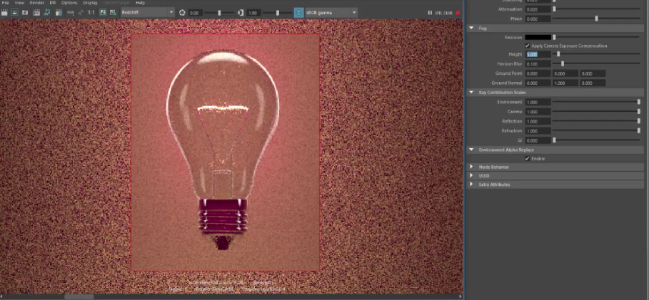 Volume Lighting In Redshift for Maya | CG TUTORIAL