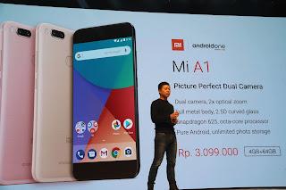 Mi A1 Hadir Di Indonesia Berkat Kolaborasinya Dengan Google