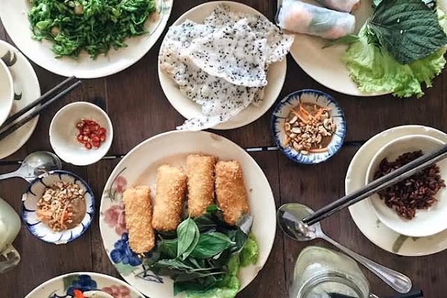 Món ăn đậm chất Việt Nam
