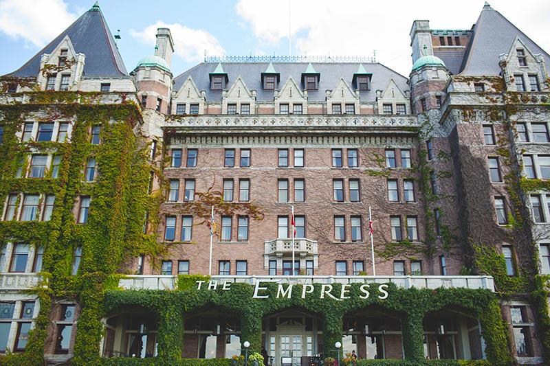 Victoria, BC's iconic Empress Hotel