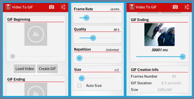 Cara Membuat video jadi GIF di android