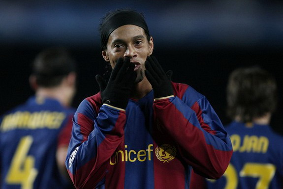Ronaldinho had a secret weapon during his spells with Barcelona - it was sex