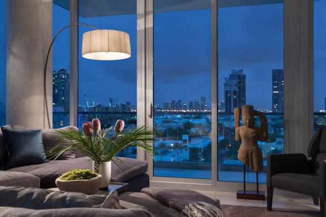 Smiros Miami Beach Penthouse 10 Family Room