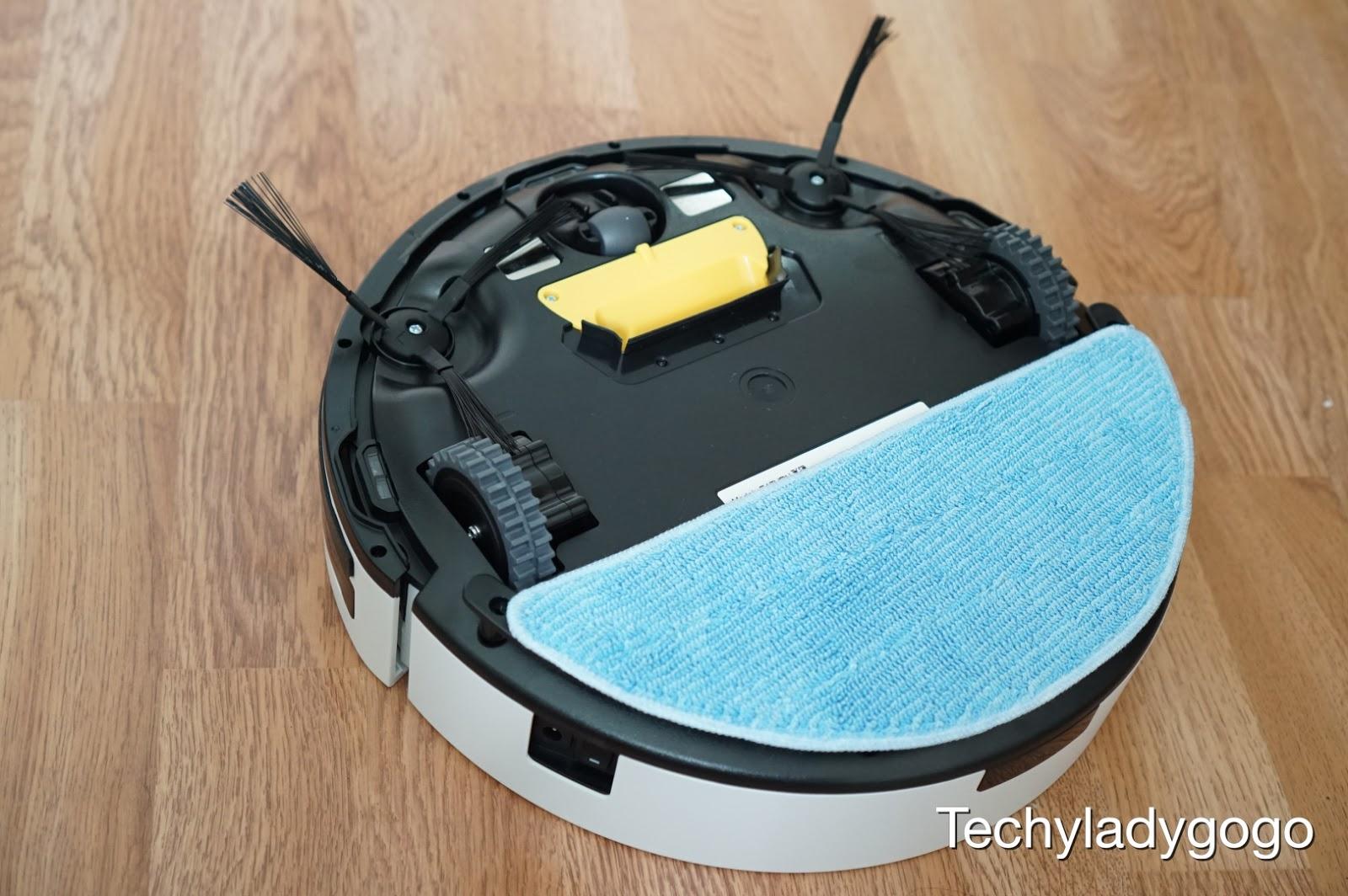 รีวิวหุ่นยนต์ดูดฝุ่น และถูพื้น Mister Robot Saturn X2 Vacuum Cleaner ผู้ช่วยทำความสะอาดพื้นบ้าน ผ่อนแรง พื้นสะอาดเกลี้ยง
