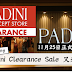 Padini Clearance Sale 又来了!又是时候去狂购了![特定分行]