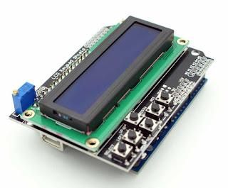 LCD KARAKTER KEYPAD SHIELD 16X2