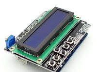 CARA MEMPROGRAM LCD KARAKTER KEYPAD SHIELD 16X2 DENGAN ARDUINO