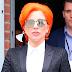 FOTOS HQ: Lady Gaga abandonando desfile de Nicola Formichetti en New York - 17/02/16