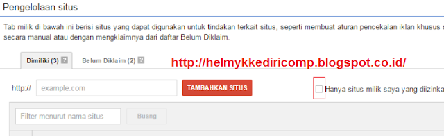 Klik Iklan Sendiri Penyebab Banned Google Adsense