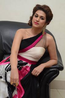 Actress Shraddha Das Latest Stills in Stylish Dress at tur Talkies Audio Launch  0032.jpg
