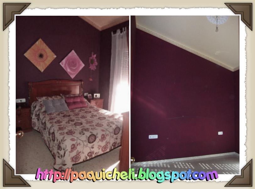 Paquicheli mi casa 1 1 dormitorio 1 parte for Pintura color berenjena