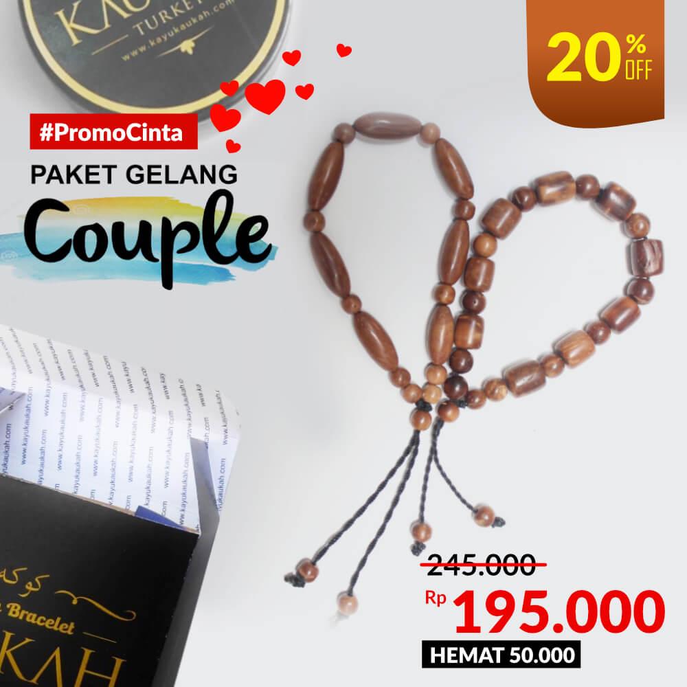 Gelang Kayu Kokka Premium