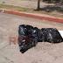 Encuentran cadáver embolsado afuera del Panteón Municipal de Buenavista