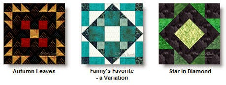 Free quilt block patterns © W. Russell, patchworksquare.com