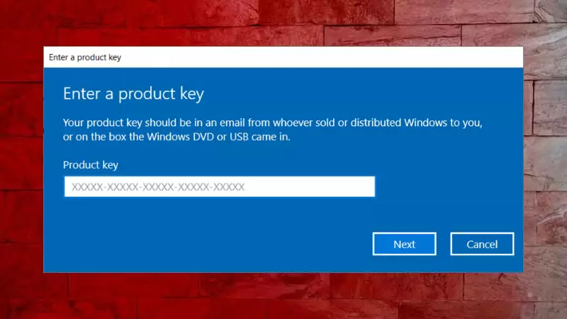 How to change the Product Key of Windows 10?