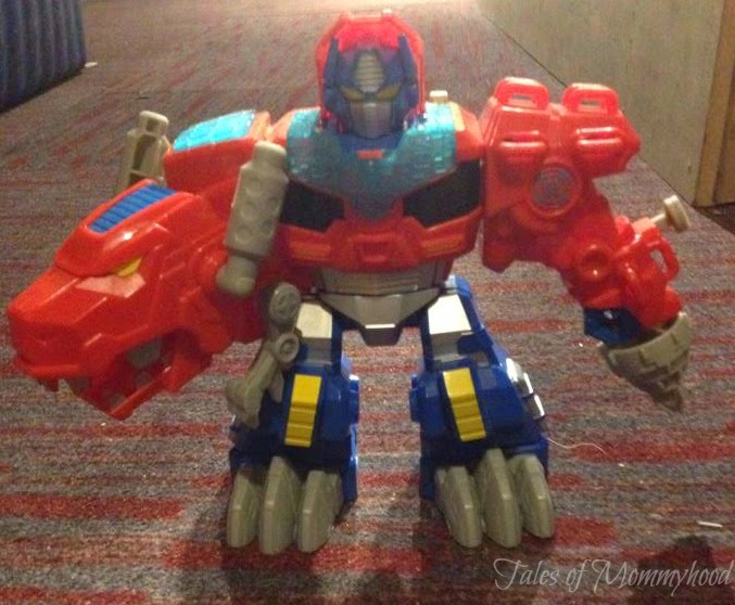transformers, rescue bots, tales of mommyhood gift guide, optimus prime, toy, kids