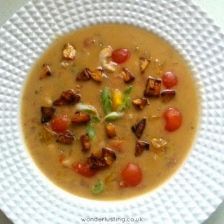 spicy cashew soup