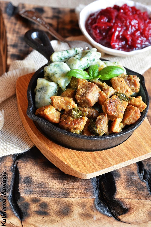 Gulasz Z Kopytkami Szpinakowymi Rodzinny Obiad Kulinarna