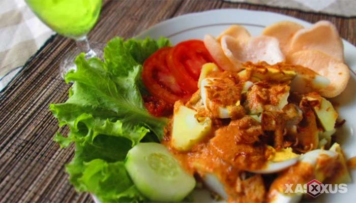 Resep cara membuat gado-gado Surabaya