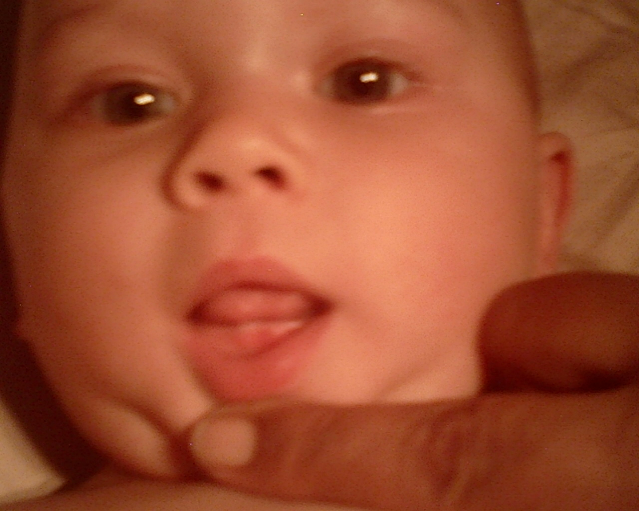 Teething, First Baby Tooth Coming in at 8 months August 2011 - Mother Baby Child