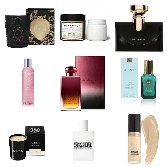 shopruine list, wishlist beauté, wishlist parfum, blog bougie, blog parfum