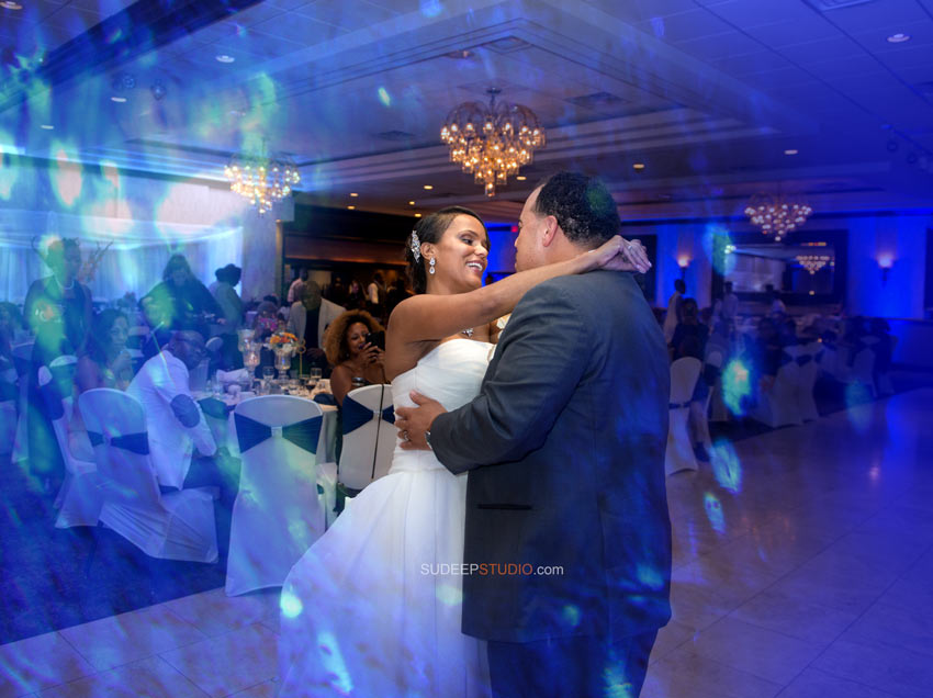 Club Ventian First Dance Wedding Photography - Ann Arbor Photographer Sudeep Studio.com