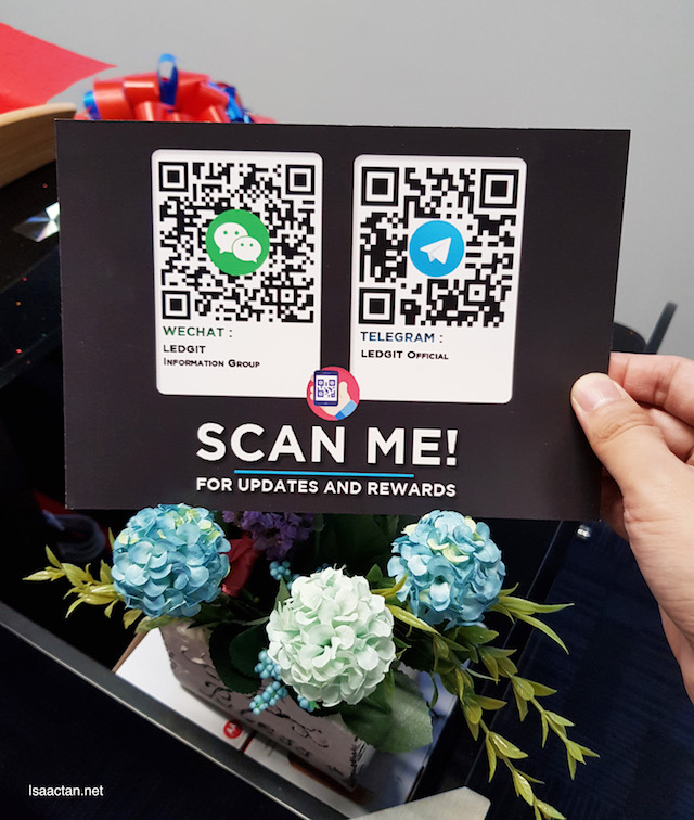 Scan and stay connected, for updates and rewards!