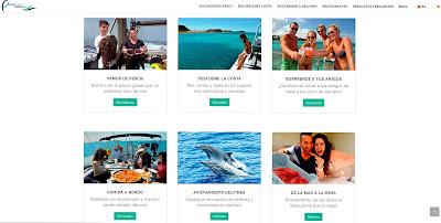 Web de Pescaturismo Mallorca