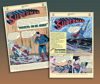 Superman Novaro 533, 2 historietas