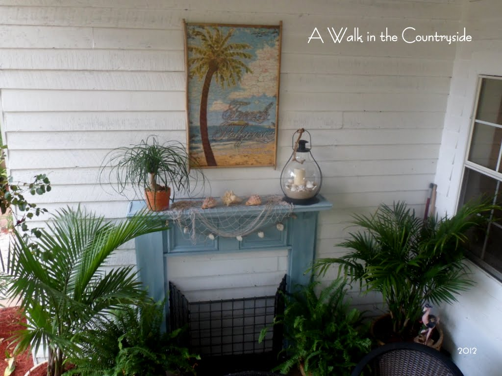 A Walk In The Countryside Tropical Back Porch Paradise