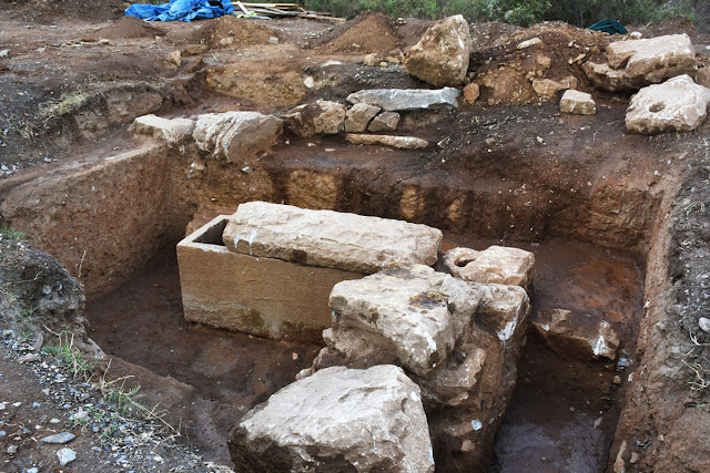 Hellenistic, Roman tombs unearthed in southwestern Turkey