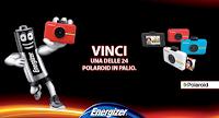 Logo Concorso ''Dai energia ai tuoi ricordi'' e vinci subito 24 Polaroid Snap Touch