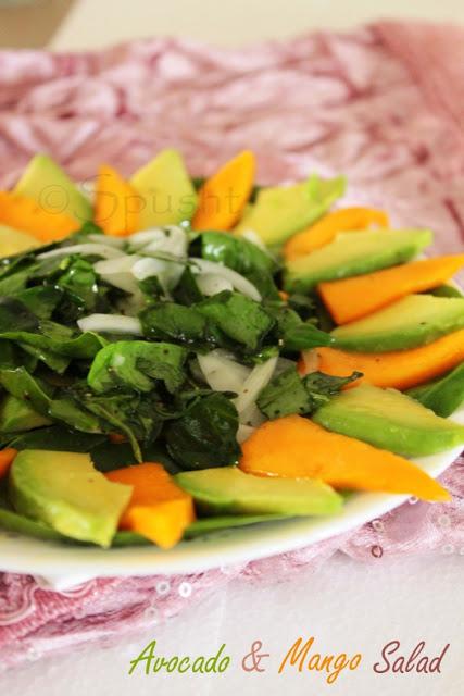Mango and Avocado Salad