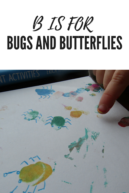 B is for Bugs and Butterflies