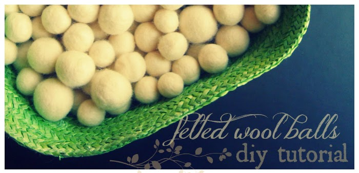 how to make felted wool balls easy craft tutorial for dryer balls or decorations