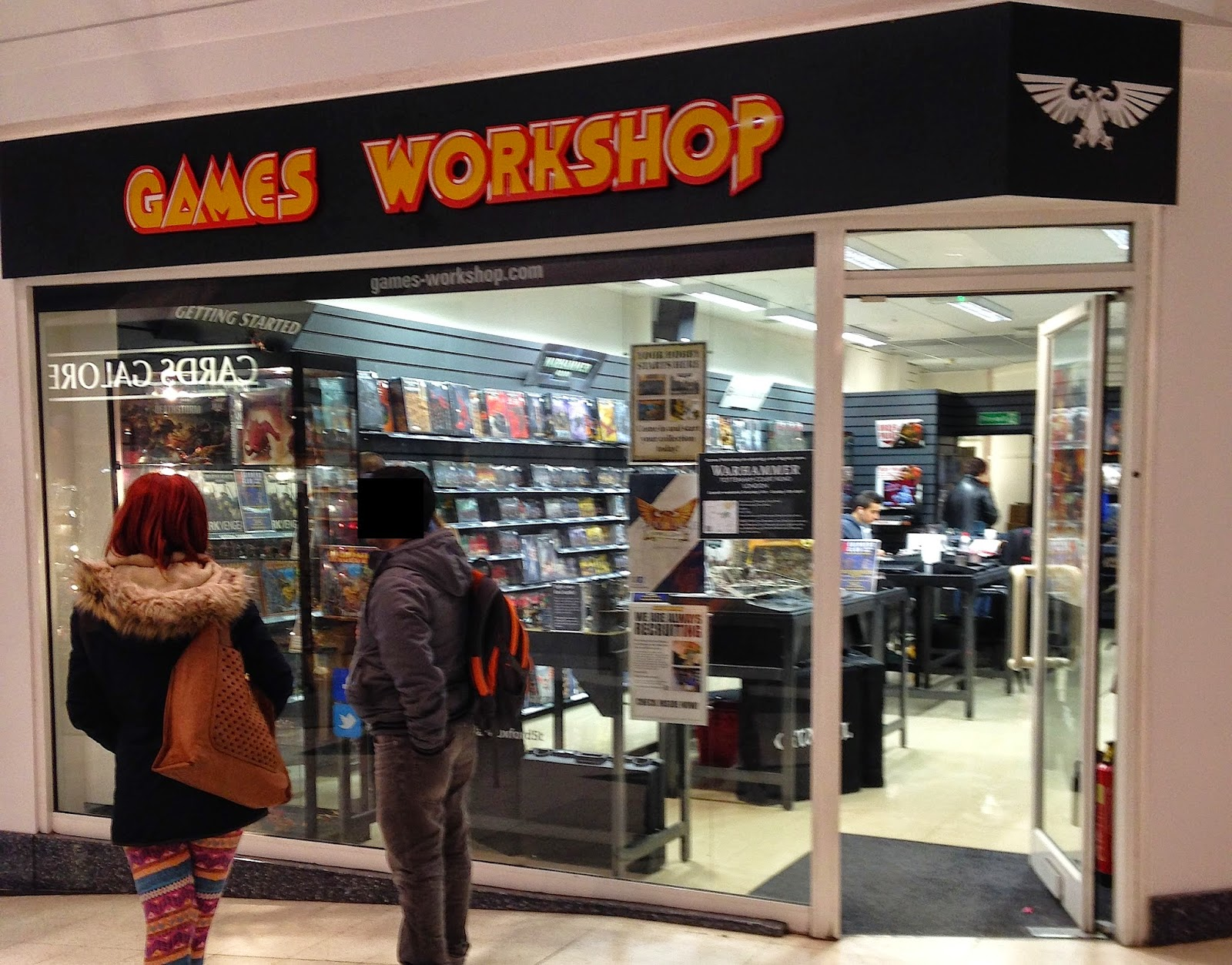 Games Workshop Warpstone Flux Games Workshop Oxford Street London On