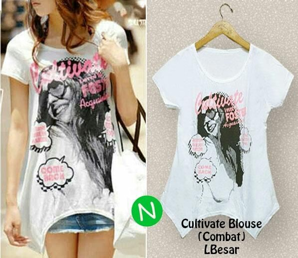 Jual Blouse Blouse Cultivate Printing - 12763