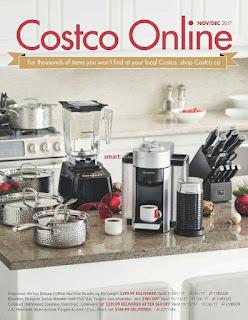 Costco Weekly Flyer November 1 – December 31, 2017