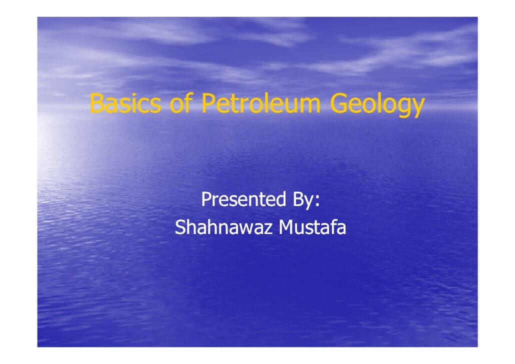 petroleum geology books free download pdf