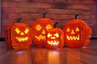 LEGO pumpkins  - Brick or Treat at LEGOLAND discovery centre Manchester