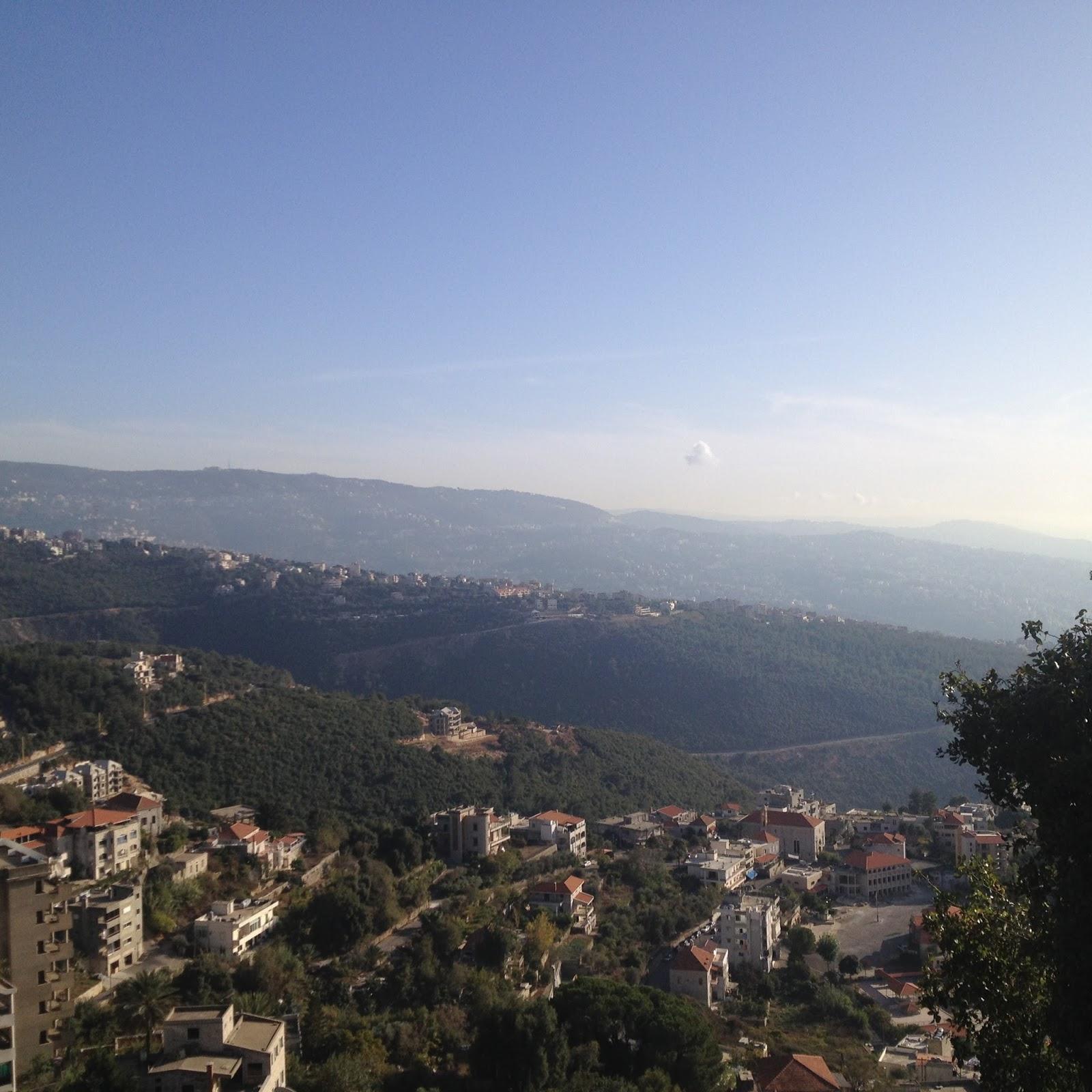 Blick vom syrisch katholischen Kloster