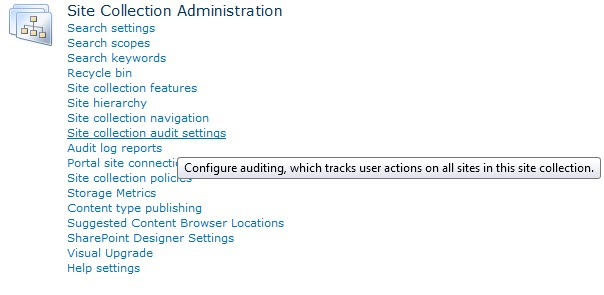 SP Daily Tips: How to Configure Auditing in Office 365 SharePoint