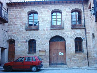 Calle Palacio, El Palau, El Palacio, puerta