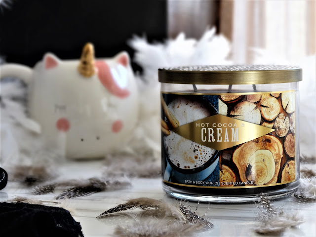 hot cocoa and cream bath & body works, avis hot cocoa and cream bath & body works, avis bougie hot cocoa and cream bath & body works, hot cocoa and cream candle review, hot cocoa and cream bath & body works candle, bath & body works france