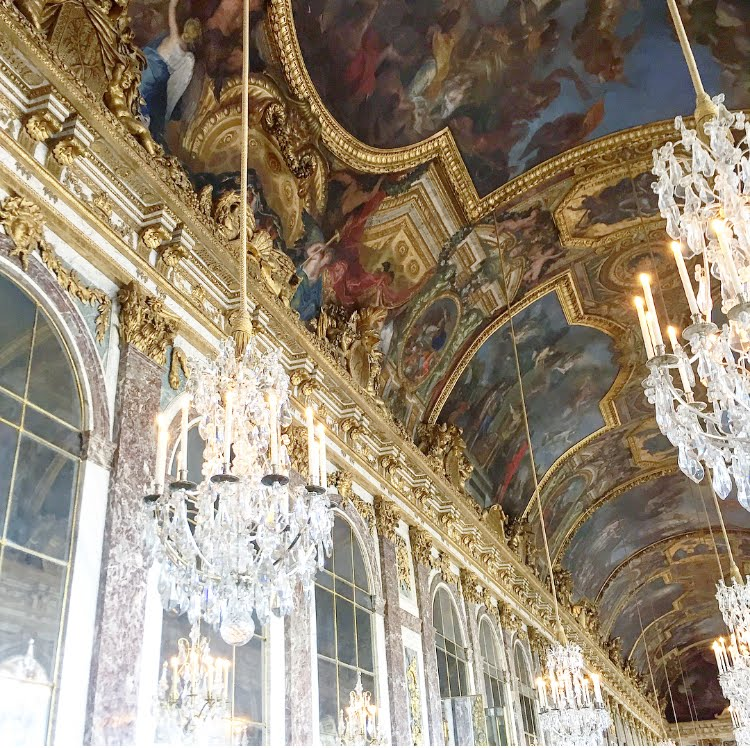 Versailles; How to Instagram Paris Like A Parisian