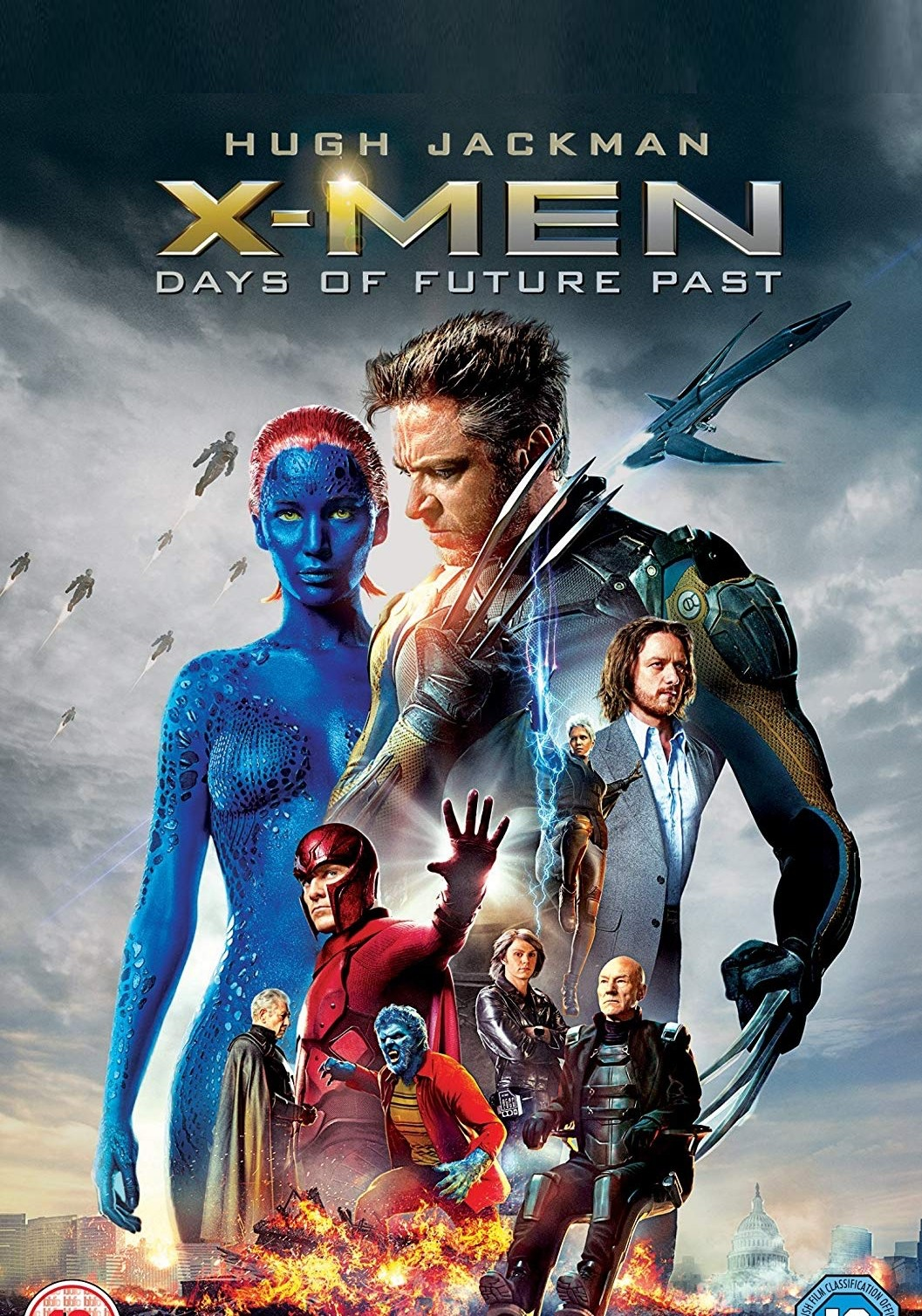 X-Men: Days of Future Past (2014) Dual Audio 450MB Blu-Ray 480p